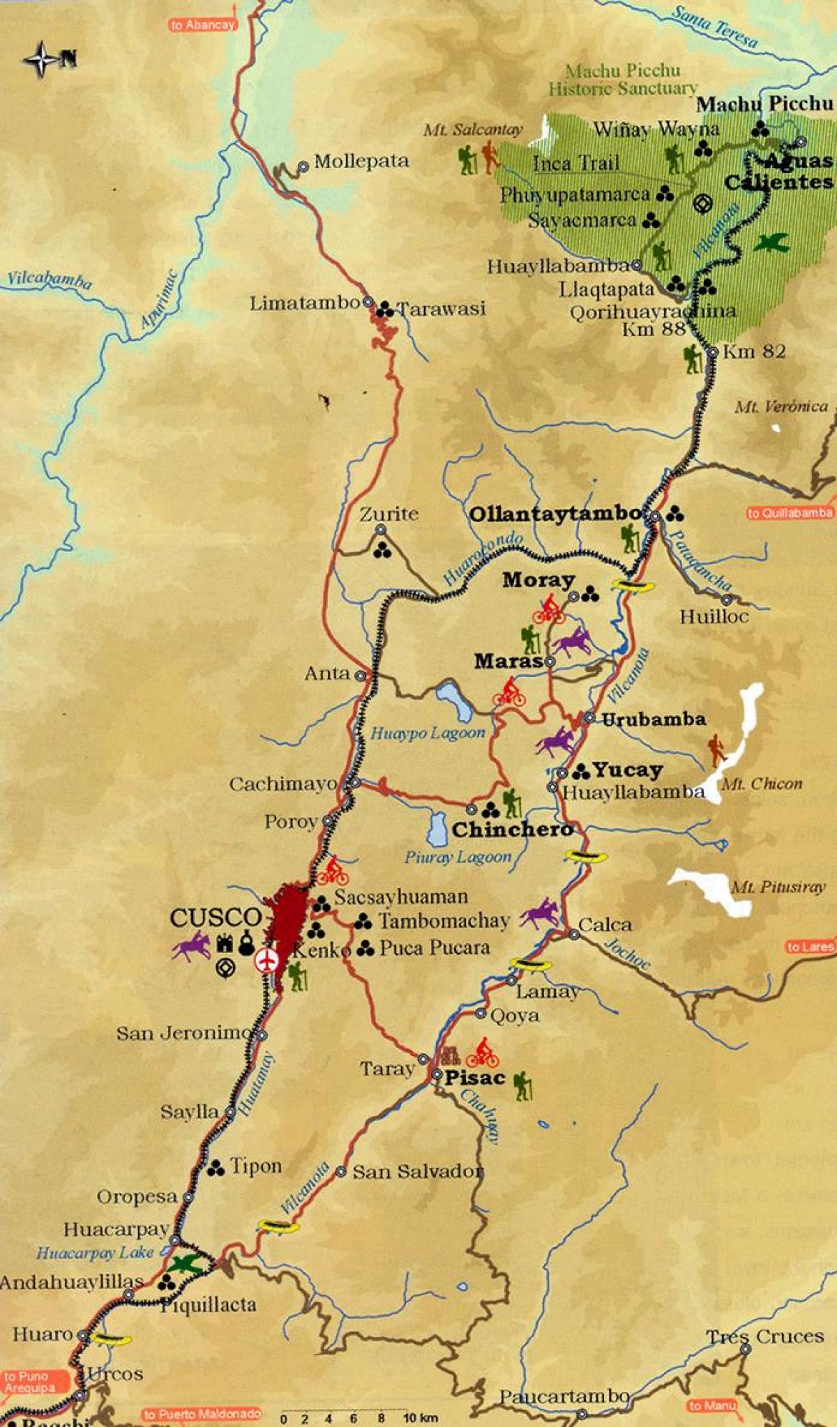 peru térkép Szent völgy Peru térkép   Térkép szent völgy cusco, Peru (Dél  peru térkép